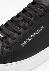 Emporio Armani - Sneakers basse - black/ochra/grey - 5