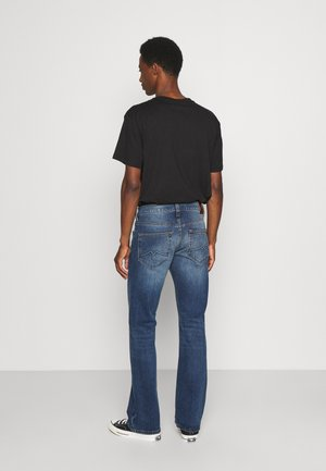 OREGON - Bootcut jeans - denim blue