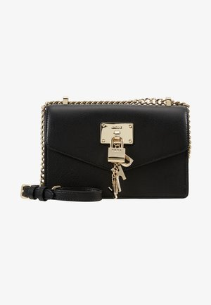 ELISSA SHOULDER FLAP - Skulderveske - black