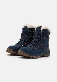 Jack Wolfskin - ASPEN TEXAPORE MID  - Winter boots - dark blue/blue - 1