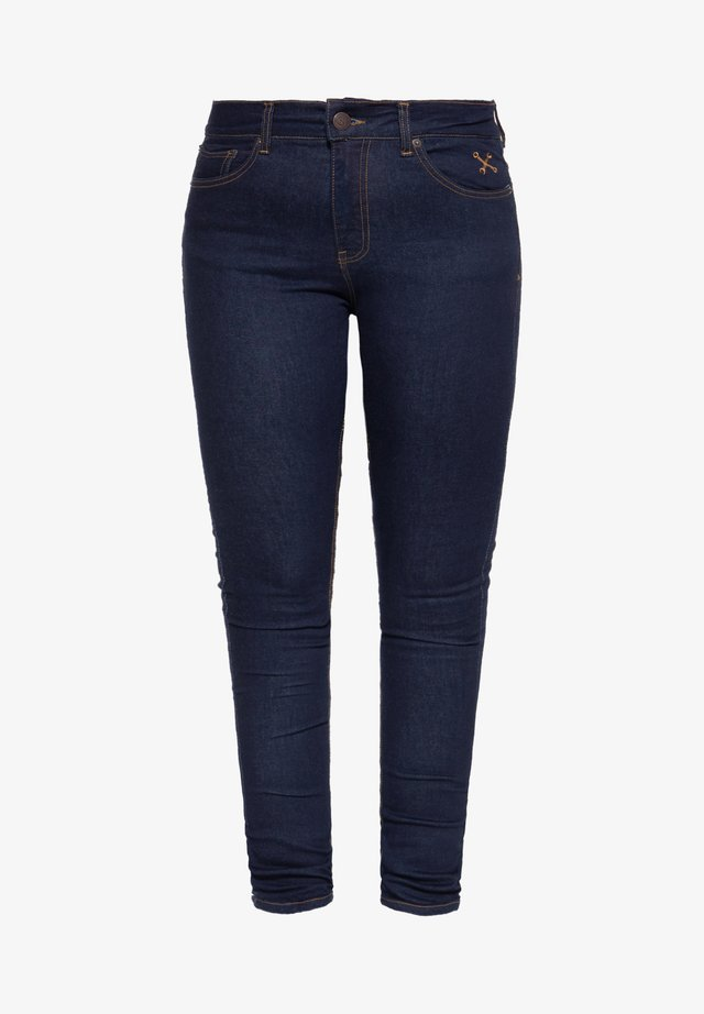 SLIM FIT BETTY - Jean slim - dunkelblau