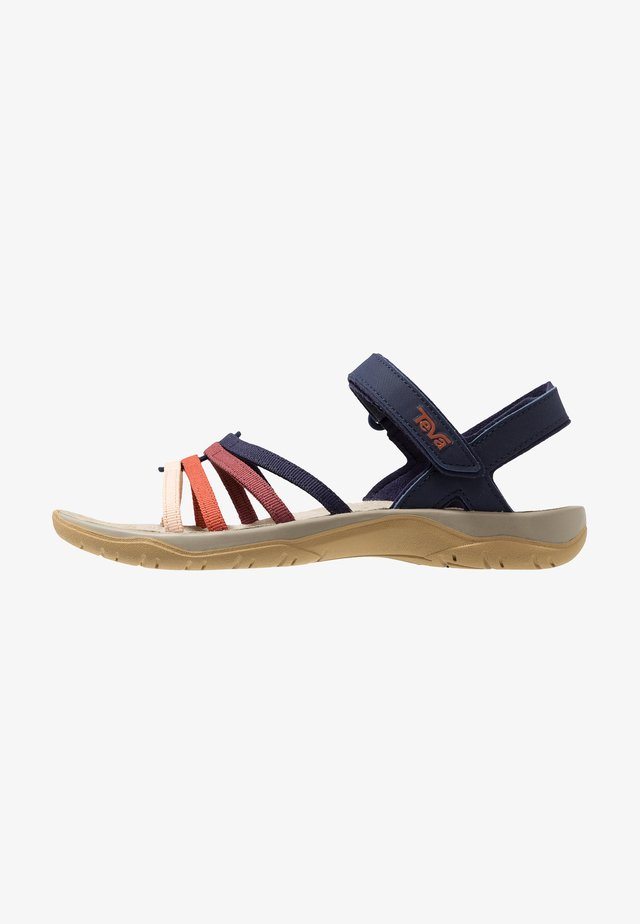 ELZADA - Walking sandals - eclipse/mutlicolor