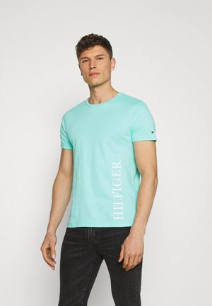 SMALL LOGO TEE - Print T-shirt - green