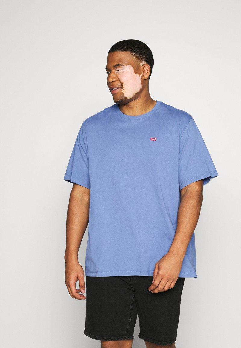 Levi's® Plus - BIG ORIGINAL TEE - Jednoduché triko - colony blue