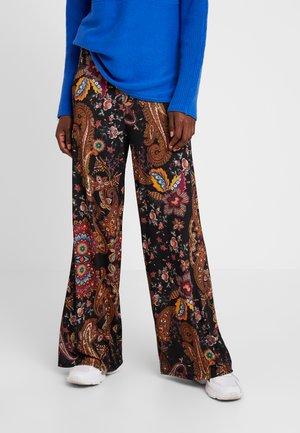 PANT INDIRA - Spodnie materiałowe - tangerine
