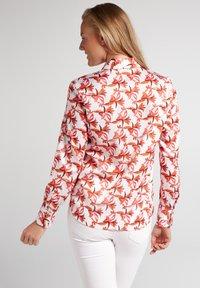 Eterna - ETERNA - Button-down blouse - rot/orange - 1