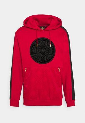 ABELLO OTH HOOD - Sweatshirt - red