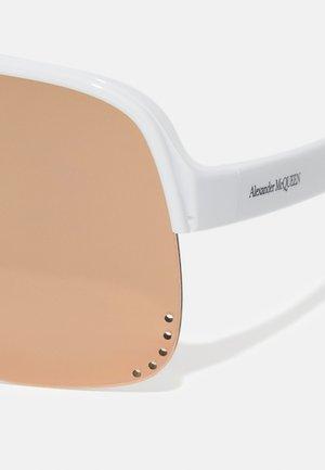 UNISEX - Sluneční brýle - white/pink