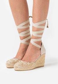 ALDO - MUSCHINO - High heeled sandals - gold - 0