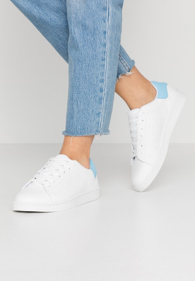 PSSARAH  - Sneakers laag - bright white/kentucky blue
