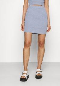 Bec & Bridge - MIMI MINI SKIRT - Mini skirt - silver blue - 0