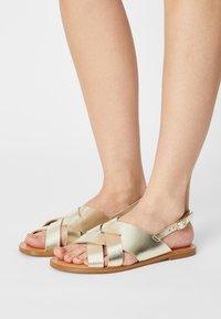 Zign - Sandals - gold - 0