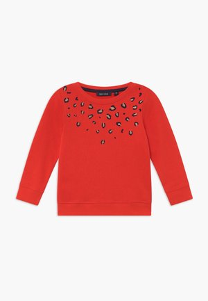 KIDS ANIMAL PRINT - Sweater - tomate