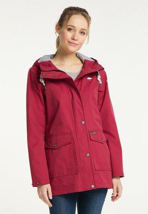 Waterproof jacket - rot