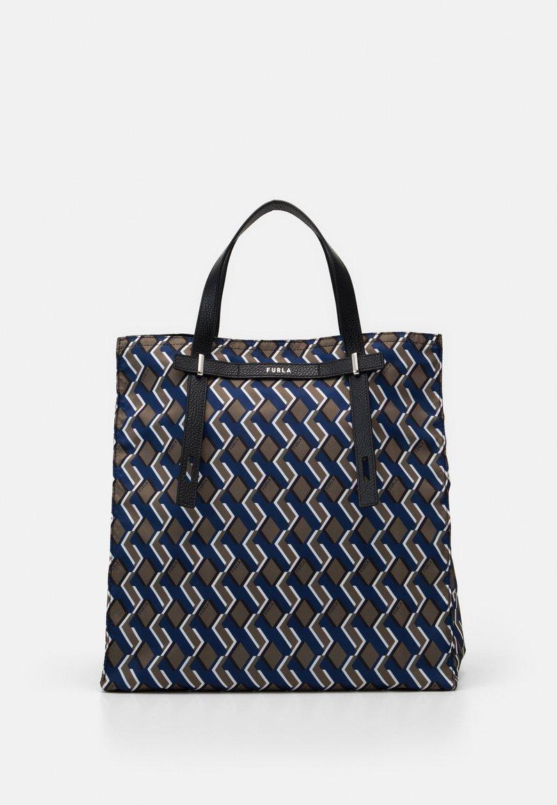 Furla - MAN GIOVE SHOPPER TESSUT - Shopping bag - toni militare