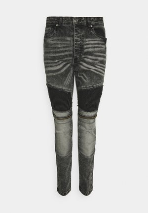 MARCUS - Skinny džíny - black wash