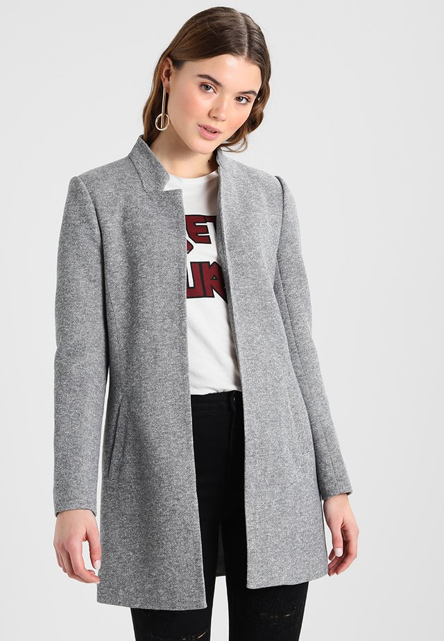 ONLSOHO COATIGAN  - Short coat - light grey melange