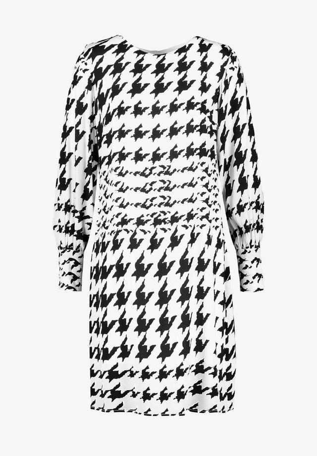 Robe d'été - black gemustert