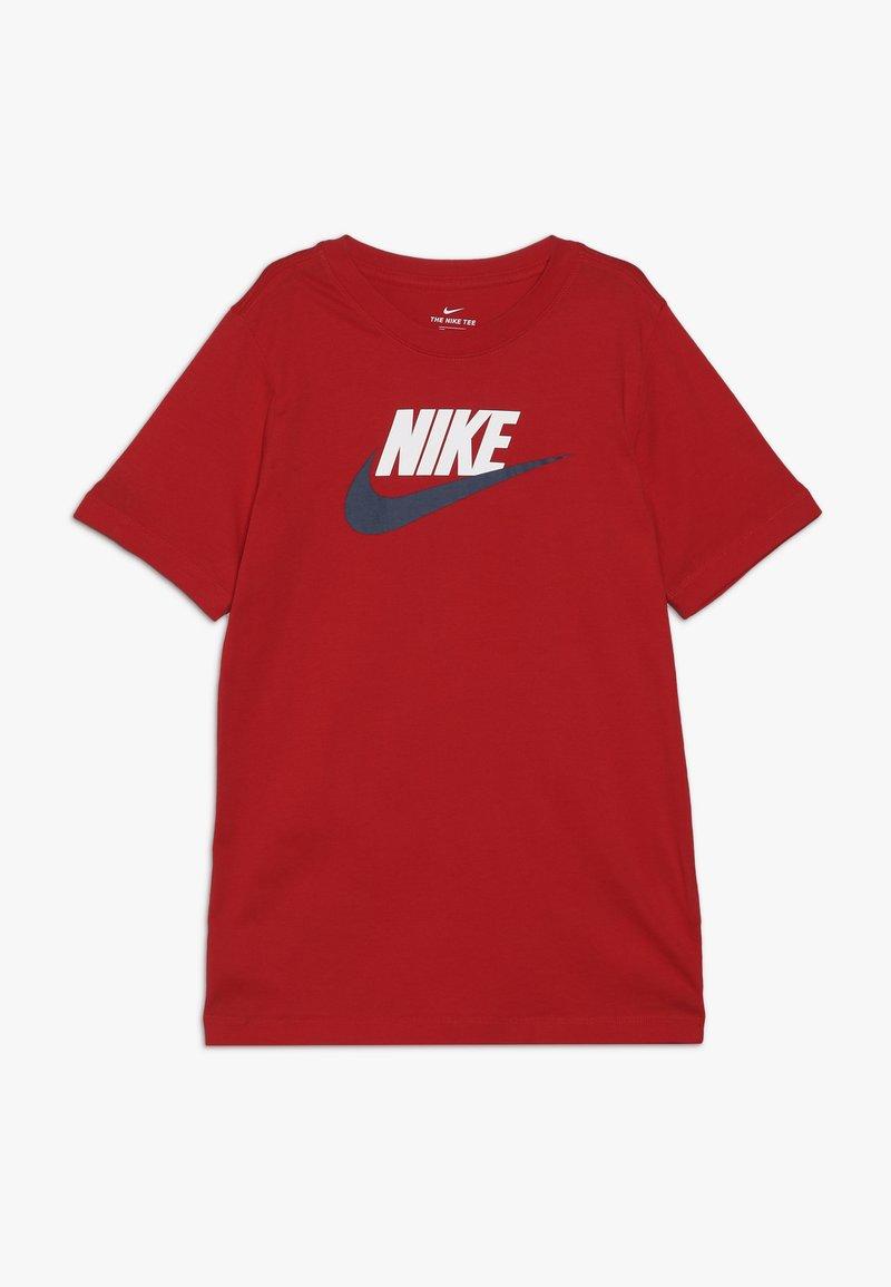 Nike Sportswear - FUTURA ICON TEE - Printtipaita - university red/white/midnight navy