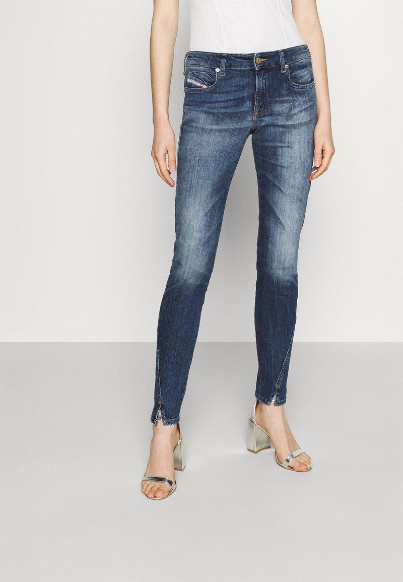 Diesel - D-JEVEL - Jeans Skinny Fit - medium blue