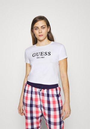 CREW NECK - Pyjamashirt - true white