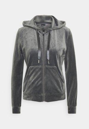 CECILIA HOODIE - veste en sweat zippée - dark grey