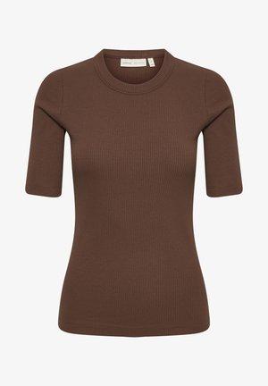 DAGNAIW - T-shirt basique - coffee brown