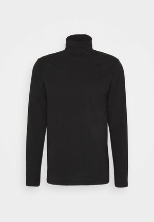TED ROLLNECK - Long sleeved top - black