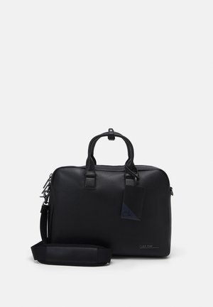 LAPTOP BAG UNISEX - Aktówka - black