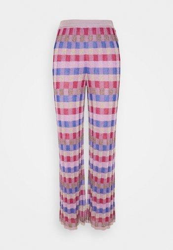 PANTALONE - Kalhoty - pink/multi-coloured