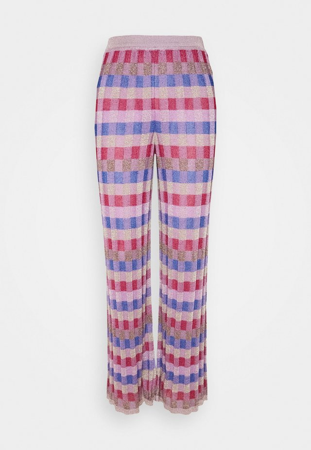 PANTALONE - Trousers - pink/multi-coloured