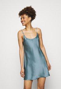 La Perla - SHORT SLIPDRESS - Nightie - light blue - 1