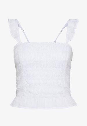 SMOCK CAMI - Top - white
