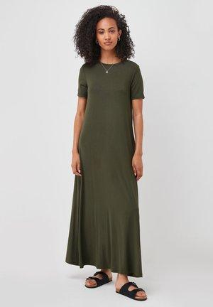 COLUMN - Maxi dress - khaki