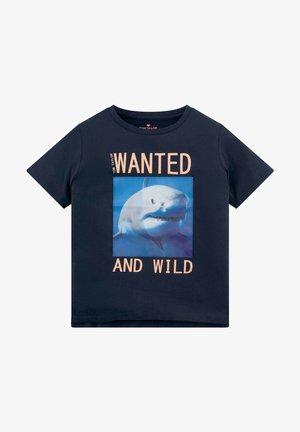 MIT PRINT - Print T-shirt - dress blue blue