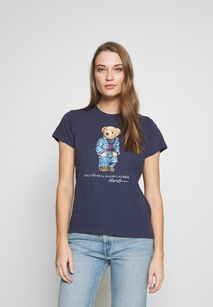 BEAR SHORT SLEEVE - Print T-shirt - classic royal