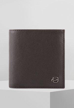 PIQUADRO BLACK SQUARE GELDBÖRSE RFID LEDER 12 CM - Wallet - dark brown