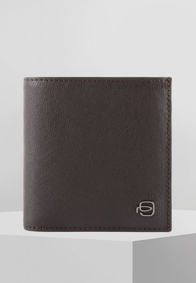 PIQUADRO BLACK SQUARE GELDBÖRSE RFID LEDER 12 CM - Portafoglio - dark brown