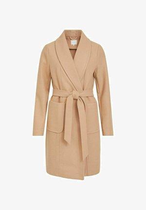 Classic coat - soft camel