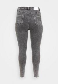 Glamorous Curve - RIPPED WREN - Jeans Skinny Fit - washed black - 1