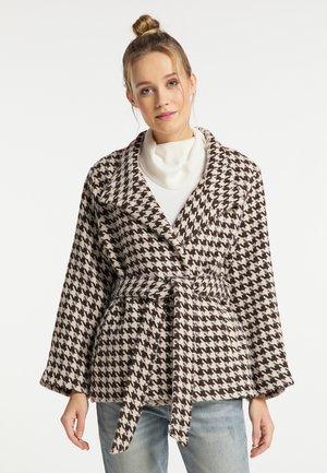 Krátký kabát - braun beige