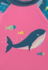 Frugi - SUN SAFE SET WHALES - Swimsuit - blue - 3