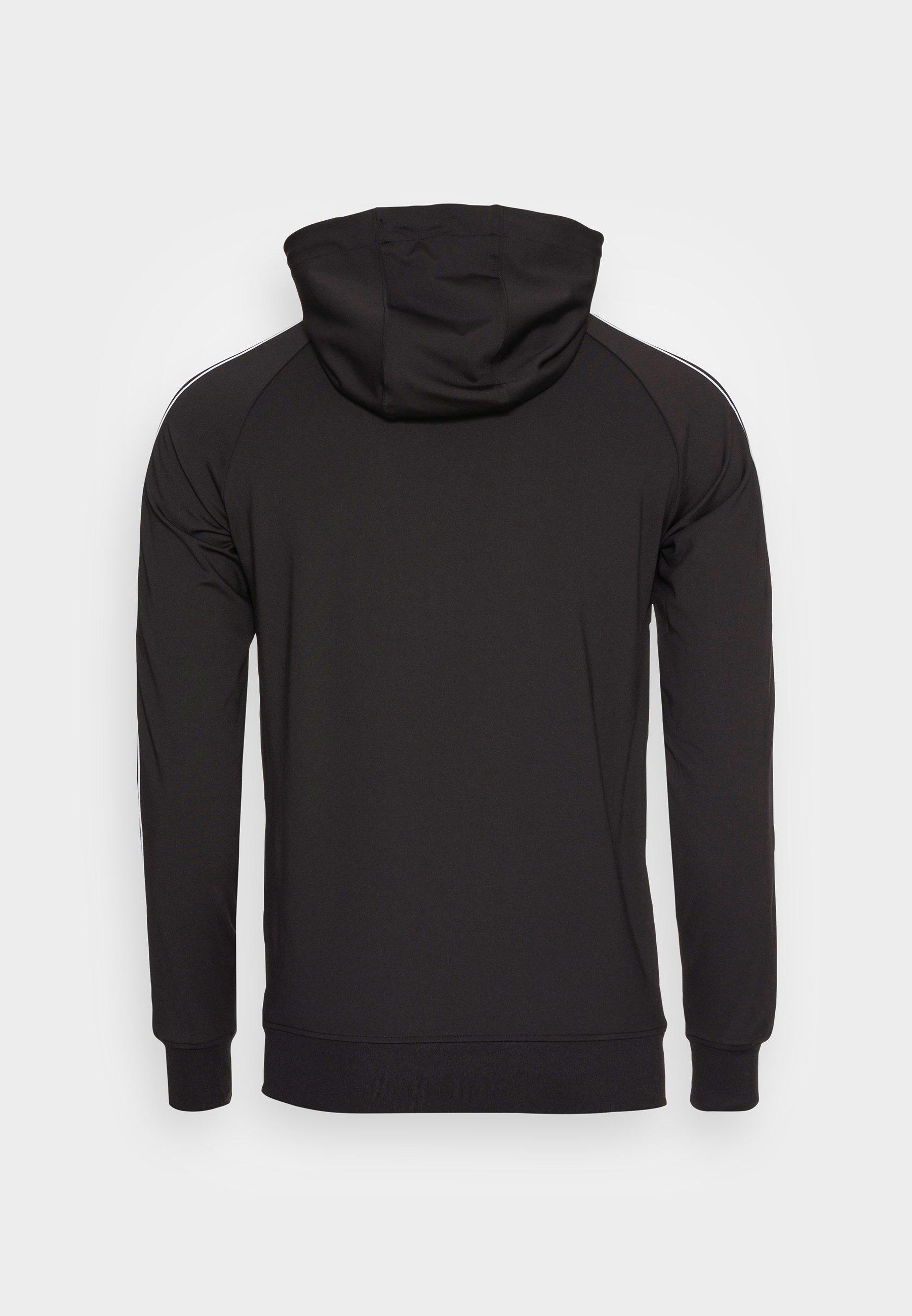 Men STATUS TAPE ZIP THROUGH HOODIE - Zip-up sweatshirt