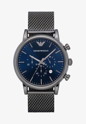 Chronograph watch - grau ip