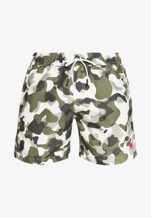 DIRIK SIDE PANEL - Swimming shorts - cool grey birch