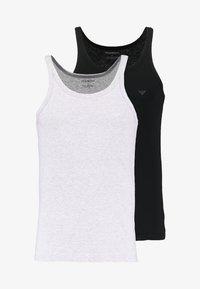 black/heather gray