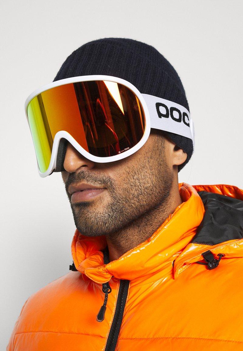 POC - RETINA BIG CLARITY UNISEX - Ski goggles - hydrogen white/spektris orange