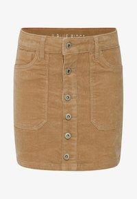 WE Fashion - Mini skirt - brown - 0