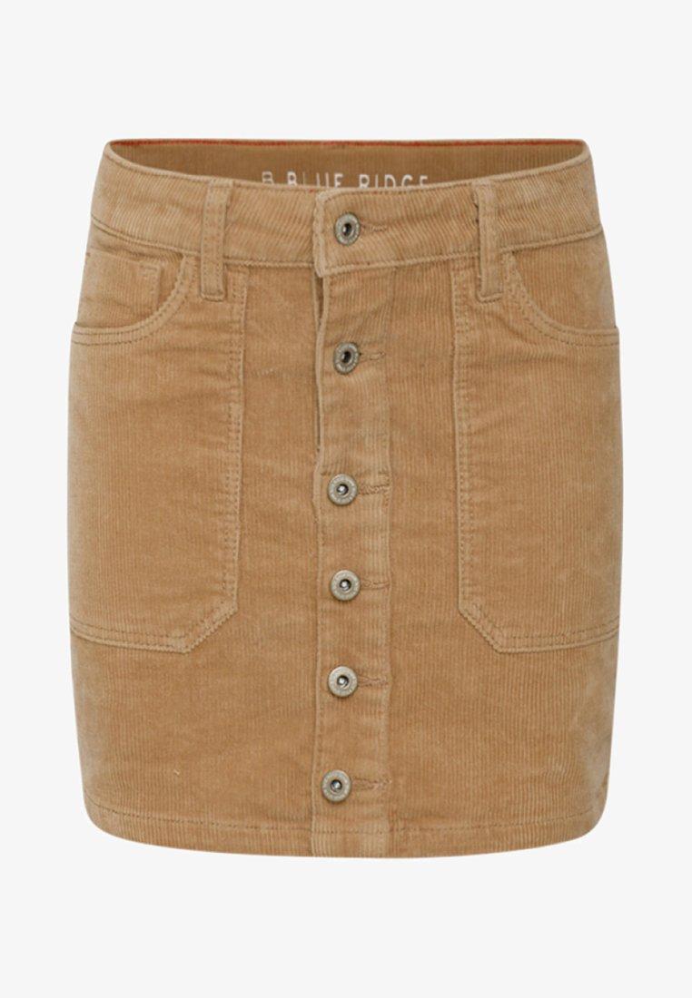 WE Fashion - Mini skirt - brown