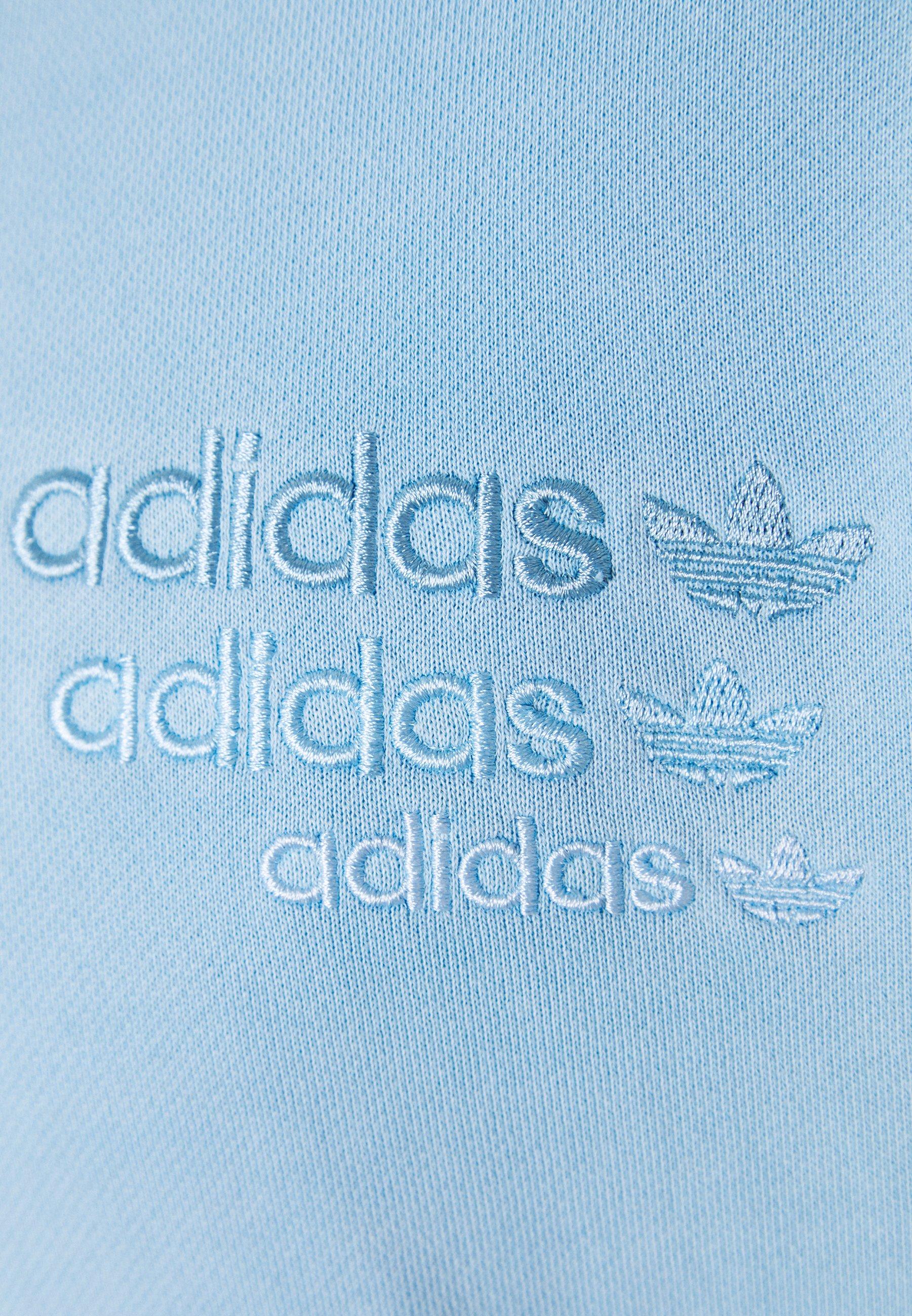 adidas Originals OVERDYED CREW - Sweatshirt - sky